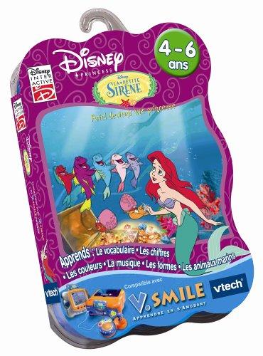 VTech - Cartouche de jeu V.Smile la Petite Sirène : Ariel devient une princesse - 92125