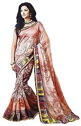 LolyDoll Women's Cotton Saree SR3_Multicolor