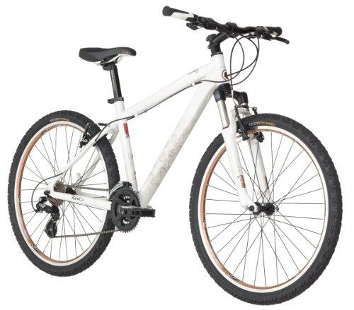 Diamondback Lux Women's Mountain Bike (26-Inch Wheels), Pearl White, Small/15-Inch