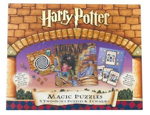 Cheap BePuzzled Harry Potter Magic Puzzles: 141 Pcs (B000056CGX)