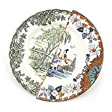 Ipazia Fine Bone China Hybid Dinner Plate by Seletti