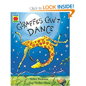 giraffes can t dance amazon co uk giles andreae guy