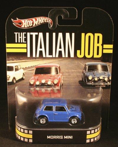 Hot Wheels Retro The Italian Job 1:55 Die Cast Car Morris Mini - 1