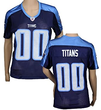Tennessee Titans NFL Ladies Team Replica Jersey, Navy by Reebok