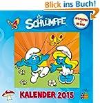 Die Schl�mpfe - Wandkalender 2015