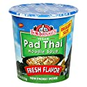 Dr. McDougall's Right Foods Vegan Pad Thai Noodle Soup, 2-Ounce Cups (Pack of 6)