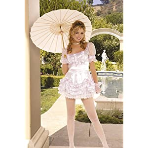 White Lace Parasol Umbrella Victorian Southern Belle items in