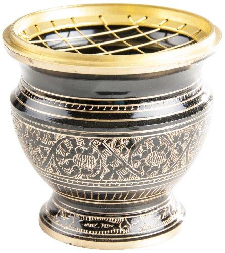 Berk-KH-515-L-Rucher-Zubehr-Netzruchergef-schwarz-gold