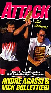 Andre Agassi: Attack [VHS]