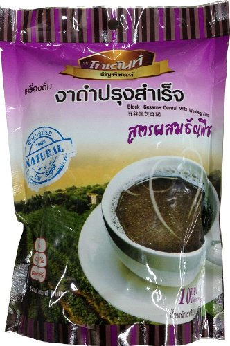 Instant Black Sesame Cereal With Wholegrains 300 G Thai