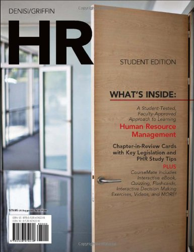 HR (with Management CourseMate with eBook Printed Access...