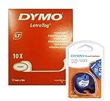 DYMO 91201 - Dymo 91201 White Plastic Tape