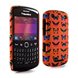 Proporta Protective Hardshell Case Cover Skin Sleeve for BlackBerry Curve 9350 / 9360 / 9370 - Butterflies