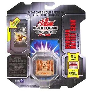 Bakugan Gundalian Invaders - Battle Gear - Subterra CHOMPIXX (Brown) [Gold]