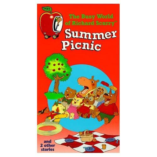 Amazon.com: Summer Picnic (The Busy World Of Richard