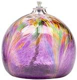 Kitras 3-Inch Oil Lamp Art Nouveau, Purple