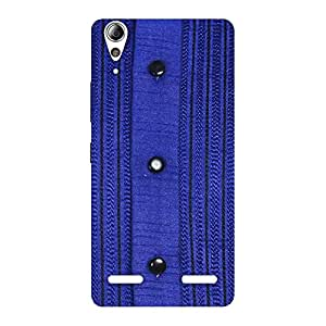 Style Royal Blue Back Case Cover for Lenovo A6000 Plus