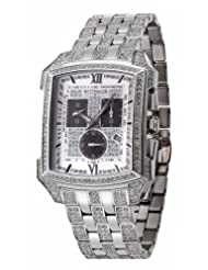 Wittnauer Men's 10B012 Krystal Collection Genuine Swarovski Crystal Accented Watch