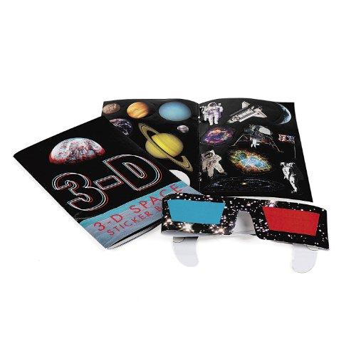 3-D Space Sticker Books (1 dz)