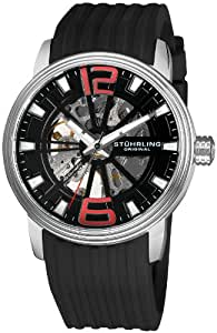Stuhrling Original Men's 1078.33161 Classic Delphi Achilles Automatic Skeleton Black Watch