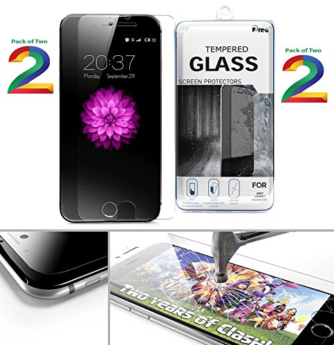 Pack Of Two - Full Screen Anti-scratch Laser-cut Tempered Glass Protectors With Curved Edge, Cover Edge-to-Edge...