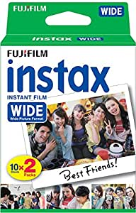 Fujifilm Instax Wide Film Twin Pack (White) (Old Packaging)