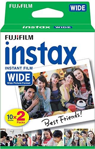 Fujifilm Instax WIDE FILM 10 F. 2 Pack Pellicola Instantanea per Fujifilm Instax 210 Wide