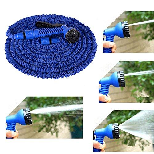 heartogether in gomma ad alta pressione Squirt Gun Aging Resistenza Acqua Tubo con ugello per casa giardino auto lavaggio