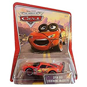 Disney Pixar Cars Race-orama Spin Out Lightning Mcqueen [Toy] [Toy] [Toy] [Toy]