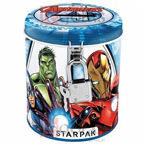 Marvel Avengers salvadanaio con lucchetto