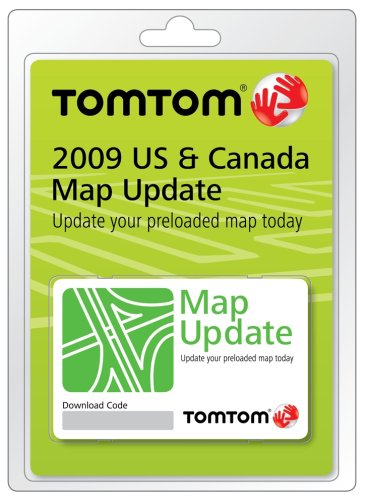 TomTom GPS: TomTom 9SDB.052.00: TomTom 2009 U.S. and Canada Map ...