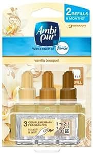 Ambi Pur 3Volution Plug In Refill Twin Pack Vanilla Bouquet 40 ml
