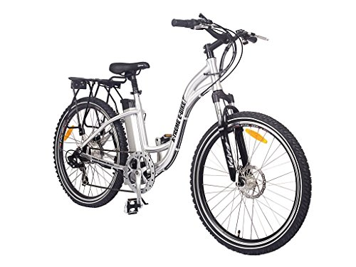 Ladies X-Treme Silver Electric Bicycle - Xb-305Li