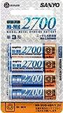 SANYO ニッケル水素電池 単3形 4本パック HR-3UG-4BP
