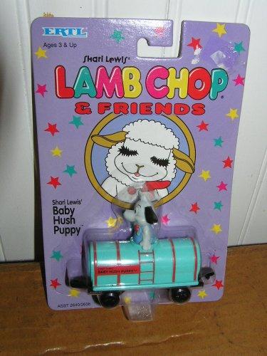 Shari Lewis Lamb Chop BABY HUSH PUPPY in Train Diecast Car by ERTL - 1