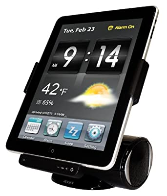 Jensen JiPS-250i Docking Station for iPad, iPod, and iPhone (Black) from Spectra Merchandising International, Inc.