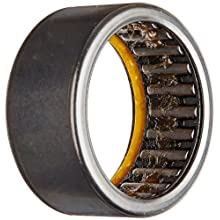 INA Needle Roller Bearing, Caged Drawn Cup, Steel Cage, Open End, Single Seal, Inch