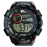 Mens Multifunction Digital LED Watch Electronic Waterproof Alarm Quartz Sports Watch Military Red