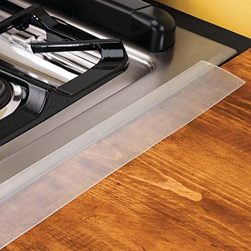 oven seam protector the silicone flexible guard that will perfectly fit between counter stove. Black Bedroom Furniture Sets. Home Design Ideas