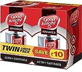 #9: Good knight Plastic Advanced Activ+ Liquid Refill Twin Pack (Red) (45 ML x 2) - 90 ML