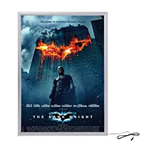 Amazon.com : Silver Light Box Display for Movie Posters 24 ...