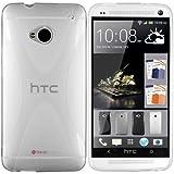 """mumbi X-TPU Schutzh�lle HTC One H�lle transparent weiss (NICHT HTC One M8)von """"mumbi"""""""