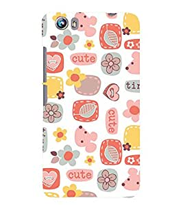 PRINTSWAG PATTERN Designer Back Cover Case for MICROMAX CANVAS FIRE 4 A107