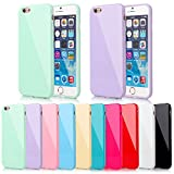 CellBoutique TM Glossy TPU Gel Case Cover Bumper Back For Apple iPhone 4 4s With Screen Protector With Screen Protector Hot Pink