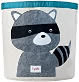 3 Sprouts Storage Bin (Racoon)