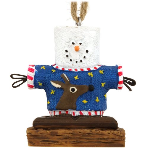 S'mores Ugly Christmas Sweater Ornament