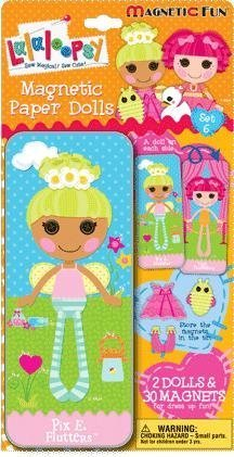 LALALOOPSY PAPER DOLL MAGNETIC FUN TIN - 1