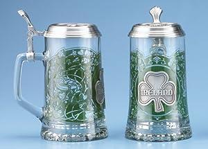 Ireland Glass German Beer Stein