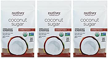 3-Pack Nutiva Organic Coconut Sugar
