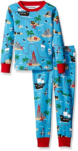 Little Blue House By Hatley Boys' Pajama Set-Treasure Island